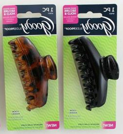 1 Goody Slideproof Stay Secure Hold Wave Design Long Medium