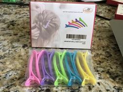 10 Pack Duck Teeth Bows Professional Hair Clips Salon by Rio