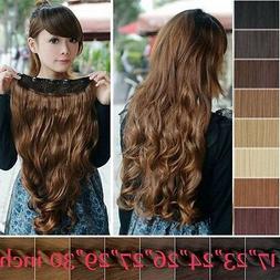 100% as remy human Hair Long Full Head Clip in on Hair Exten