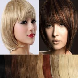 100% Natural Human Hair Bangs Fringe Clip In Remy Hair Exten