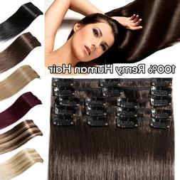 100 percent remy human hair extensions clip