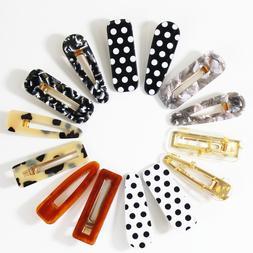 12 pcs hair clips pearl hair barrettes