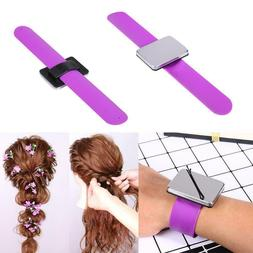 12 PIECES Salon Magnetic Bracelet Wrist Band Hair Clip Holde