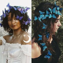 12PCS Women Butterfly Hair Clips Hair Pins Barrette Bridal W