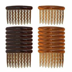 16 Pieces Plastic Teeth Hair Combs Pin Hair Combs Clips for