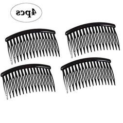 BinaryABC 16 Teeth Plastic Hair Side Comb Hair Clip Hair Acc