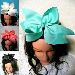 1PC 10 Inch Large Grosgrain Ribbon Bow Girls Hairpins Big Bo