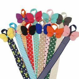 1PC Cute Ribbon Hair Bow Holder Hair Clip Storage and Organi