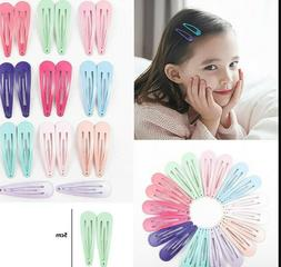 1pcs 5cm Snap Hair Clips for Hair Clip Pins BB Hairpin Color