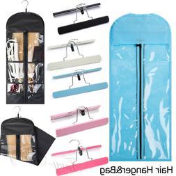 20% OFF Interlayer Suit Case Bag Hanger Hair Clip In Virgin