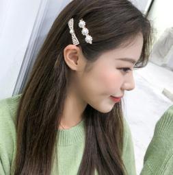 2019 Fashion For Women Pearl Hair Clip Barrettes Handmade Ha