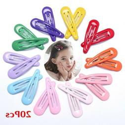 20Pcs Snap Hair Clips for Hair Clip Pins BB Hairpin Metal Ba