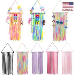 """22"""" Girls Kids Hair Bow Holder Hanger Hair Clips Storage Org"""