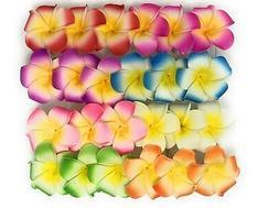 20 PCS Hawaiian  Flower Foam Hair Clip New Fashion Hair Acce