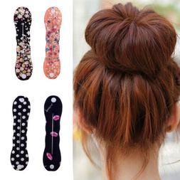 2x fashion magic sponge hair twist styling