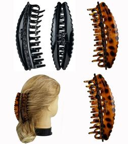 """4 Pieces  5.5"""" Claw Clip Large French Jaw Hair Clip Women Gi"""