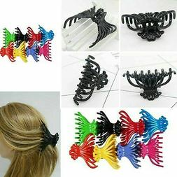 4 pieces Assorted Hair Claw Jaw Clips Comb Banana Hair Clip