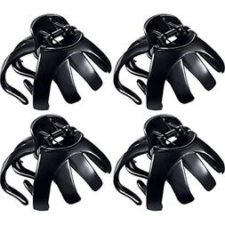 4 pieces large grip octopus clip spider