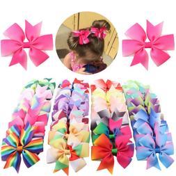 usa 40pcs 20 pairs baby girls hair