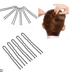 50pc Women's Hair Waved U-shaped Bobby Pin Barrette Salon Gr