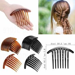 6 pcs Women 7 Tooth French Twist Comb Plastic Hair Clip Hair