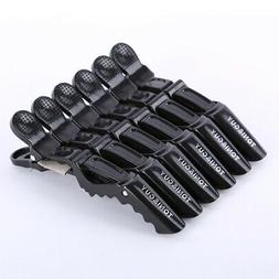 6pcs Salon Croc Hair Styling Clips-Sectioning Alligator Hair