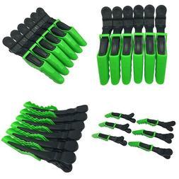 6pcs Salon Croc Hair Styling Clips-Sectioning Plastic Alliga