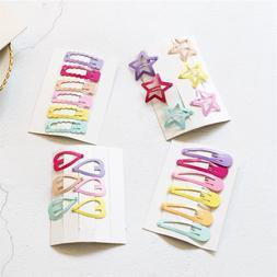 6pcs/Set Cute Printing Candy Color Cartoon girls' <font><b>H