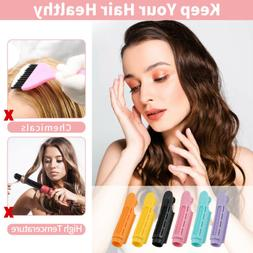 6PCS Volumizing Hair Tools Root Clips Curler Roller Wave Flu