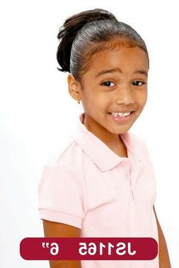 """7"""" Synthetic Hair Clip on Drawstring Ponytail -For Kids #116"""