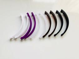 8 pcs Banana Hair Clip Claw Comb choose color