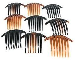 23929551e Editorial Pick 9 Pieces Combs Hair 7 Tooth French Twist Comb Plastic Hair  C. 4