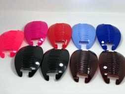 9 set Interlocking Banana Combs Hair Clip French Side Comb H