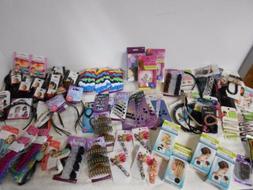 90 item Hair Accessory Lot  Scunci Goody Conair headbands ja