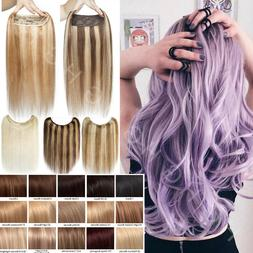 AAAA+ Invisible Wire Hair Extensions Human Hair Fish Line He