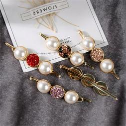 Accessories Korean Pearl Hair Clip Snap Barrette Sweet Hairg