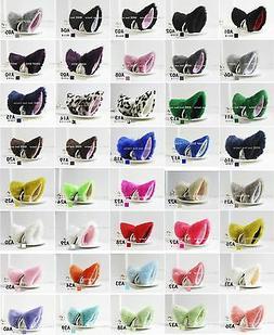 Anime Neko Lolita Cosplay 1 Pair Fox Cat Ears Hair Clip 40 C
