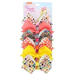 Lookgid Baby Girls Casual Bow Shape Hair Clip Hair Decoratio
