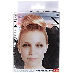 BALLERINA BUN - Color: 4/6R DARK BROWN