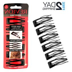 Barrettes Hair Clips for Women Hair Pins Black Hairpins Doub