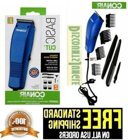 CONAIR Basic Cut Home Hair Cutting Clippers 10 PC Set Barber