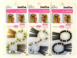 bendini hair clip 2 pcs 38655 a