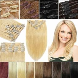 best clip in remy human hair extensions