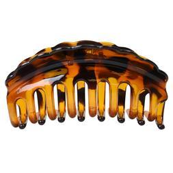 Brown Jaw Clip Claw Hair Clip Cute Girls Tortoise Hair Acces