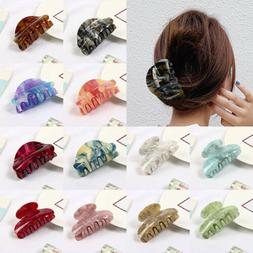 Women Hair Claw Crab Clamp Hair Clip Make Up Hair Styling To