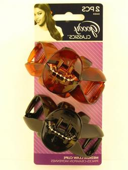 GOODY CAROLINA MEDIUM CLAW HAIR CLIPS - 2 PCS.
