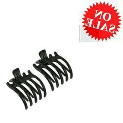 Claw Hair Clip Niceeshop Non Slip Grip Acrylic Large Black C