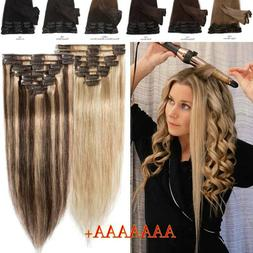 CLEARANCE Clip In 100% Real Remy Human Hair Extensions Balay