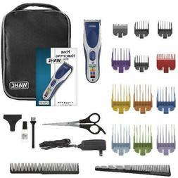 Wahl Color Pro 21-Piece Cordless Hair Clipper Set - Model #9