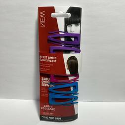 Vidal Sassoon Comb Teeth Secure Hold Sure Grip Clix Hair Cli